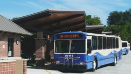 RTS Bus Transfer Station in Gainesville, Florida